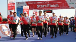 Lan tỏa thương hiệu Agribank tại Giải Vô địch Quốc gia Marathonvà cự ly dài tổ chức tại Lý Sơn