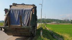 Cần nhanh chóng xử lý tình trạng phát tán mùi từ nước rỉ tại bãi rác Nam Sơn