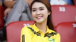 """Cùng ngắm """"Miss Asia Beauty"""" Tường Linh, fan cứng của SLNA"""