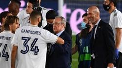 Real vô địch La Liga, chủ tịch Perez chốt tương lai Sergio Ramos