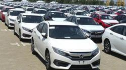 """Giảm 50% phí trước bạ, lượng ô tô nhập khẩu tiếp tục """"giảm sâu"""""""