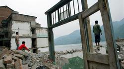 Ảnh độc thời dốc cạn sức xây đập Tam Hiệp Trung Quốc muốn giấu cả thế giới