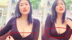 """Phi Thanh Vân mặc xẻ sâu gây """"nhức mắt"""" bị dân mạng """"soi"""" điểm nhạy cảm kém duyên"""