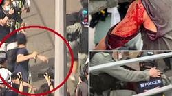 Hàng trăm người bị bắt, cảnh sát bị đâm trong ngày đầu tiên luật an ninh Hong Kong có hiệu lực