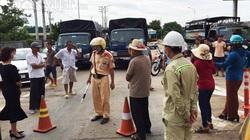 Dân chặn xe tại Trạm thu phí Ea Kar để đòi chủ đầu tư bồi thường thiệt hại