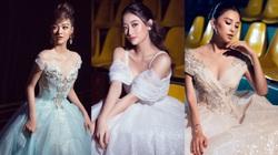 Lương Thùy Linh, Trần Tiểu Vy, Kiều Loan xinh đẹp như công chúa bước ra từ cổ tích