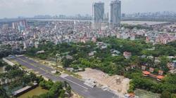 Hà Nội: Tuyến đường nghìn tỷ làm được vài trăm mét sau 2 năm thi công