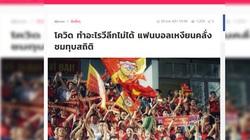 Tin tối (23/7): Báo Thái kinh ngạc vì con số khủng khiếp CĐV Việt Nam tạo ra