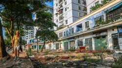 """""""Bỏ quên"""" gần 20.000 m2 mặt sàn thương mại tại các khu tái định cư ở Hà Nội"""