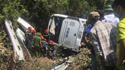 Vụ lật xe khách ở Quảng Bình: 13 nạn nhân đã tử vong
