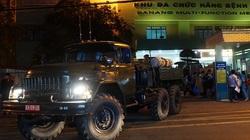 Đà Nẵng: Quân đội vào cuộc, khử khuẩn trong đêm bệnh viện điều trị bệnh nhân nhiễm Covid-19