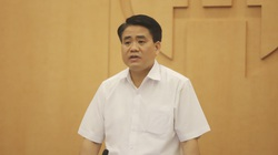 """Hà Nội """"hỏa tốc"""" thông báo kết luận của Chủ tịch Nguyễn Đức Chung về phòng chống dịch Covid-19"""