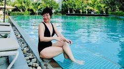 Lộ diện ảnh gợi cảm với bikini hiếm hoi của MC Thảo Vân