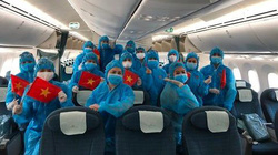 Chuyến bay đưa 340 công dân Việt Nam từ Nhật Bản về nước