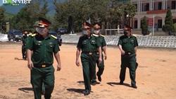 Quân khu 5 kiểm tra phòng chống Covid-19 tại Đà Nẵng