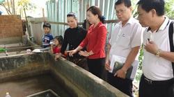 """Phó Chủ tịch T.Ư Hội NDVN thăm """"đại bản doanh"""" của 500.000 con lươn"""