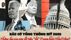 """Bầu cử tổng thống Mỹ 2020: Loạt đại gia chống lưng cho """"gã nhà nghèo"""" Joe Biden """"đá"""" Trump khỏi Nhà Trắng"""