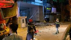 Thông tin mới nhất vụ sập giàn giáo tại Hà Nội khiến 4 người tử vong
