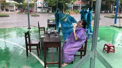 Đà Nẵng: Lấy mẫu xét nghiệm Covid-19 tất cả người dân trong khu vực cách ly