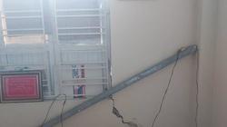 Hải Phòng: Nhà bị lún, nứt do thi công, người dân khắc khoải chờ bồi thường