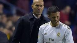 HLV Zidane báo tin buồn về Eden Hazard