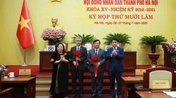 Miễn nhiệm 3, bầu bổ sung 2 nhân sự uỷ viên UBND TP.Hà Nội