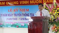 Ban Bí thư kỷ luật cách hết chức vụ Đảng của nguyên Chánh án TAND Đồng Tháp Nguyễn Thành Thơ