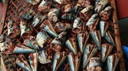 Thơm phưng phức đặc sản cá nướng than hồng ngon khó cưỡng của miền biển Cửa Lò