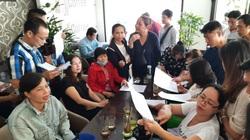 Vụ mua căn hộ chung cư Nam An: Hàng trăm người tập trung phản đối chủ đầu tư