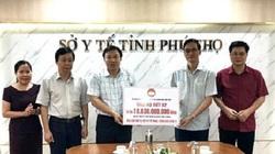 Phú Thọ: Trao hơn 21 tỷ đồng cho Sở Y tế để phòng, chống dịch Covid-19