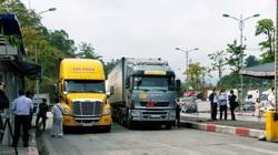 Dịch Covid-19: Lạng Sơn khôi phục chốt kiểm dịch và Đội lái xe chuyên trách tại các cửa khẩu