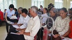 Hoà Bình: Bảo hiểm y tế, điểm tựa cho người dân