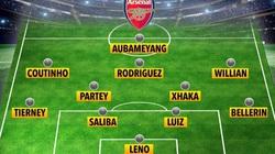 """Tiết lộ đội hình """"trong mơ"""" của Arsenal mùa 2020/21"""