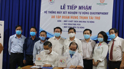 Hưng Thịnh tặng hệ thống máy xét nghiệm Covid-19 cho Bệnh viện Khánh  Hòa