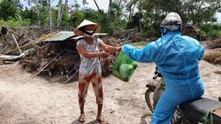 Cựu binh tiếp tế thực phẩm cho người dân ở tâm dịch Covid-19 tại Đà Nẵng