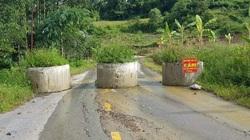 Điện Biên: Vì sao tuyến đường Tà Lèng - Mường Phăng bị sụt, nứt ?