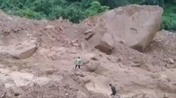Lai Châu: 1 người bị vùi lấp do sạt lở núi