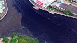 Vụ nước sông ở miền Tây bất ngờ chuyển màu đen: Đã xác định được nguyên nhân