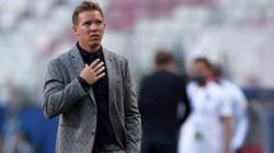 """Leipzig """"lấm lưng, trắng bụng"""" trước PSG, HLV Nagelsmann thừa nhận điều cay đắng"""