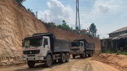 Quảng Ninh: Khai thác đất uy hiếp cột điện cao thế, doanh nghiệp bị dừng giải quyết TTHC