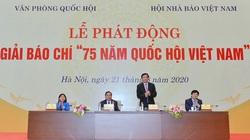 """Phát động Giải Báo chí """"75 năm Quốc hội Việt Nam"""""""
