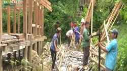 Clip: Nhiều vết nứt lớn xuất hiện sau mưa lớn, hàng chục hộ ở Sơn La phải di dời khẩn