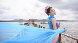 Vẻ đẹp kiêu sa, lộng lẫy cực quyến rũ của Á hậu Lý Kim Thảo