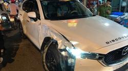 Đồng Nai: Bị truy bắt, kẻ trộm ô tô Mazda CX5 tông vào hàng loạt xe cảnh sát, phương tiện đi đường