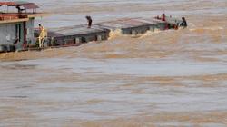 Mưa lớn, Trung Quốc xả lũ, cảnh báo mực nước sông Hồng lên nhanh