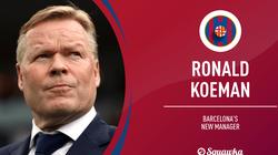 """Dream Team"" kỷ nguyên Koeman: Pique, Busquets, Suarez... ra rìa"