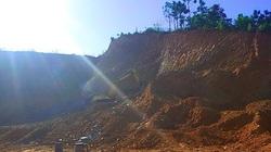 Doanh nghiệp bị phạt 120 triệu vì san gạt đất không báo cáo phạm vi, công suất