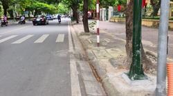 Hải Phòng: Yêu cầu xác minh, làm rõ việc chôn cọc sắt dày đặc trên phố gây nguy hiểm cho người dân