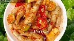 Cách làm món chân gà sốt Thái chua cay ngọt mặn, ngon đúng điệu