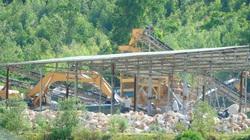 Quảng Bình: Hàng nghìn khối đá trắng tập kết trái phép